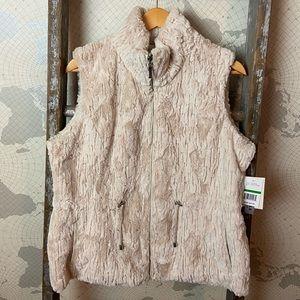 Gallery reversible vest NWT L